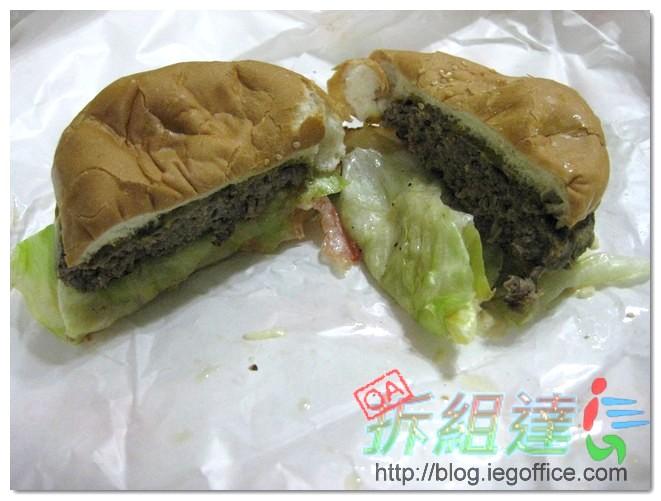 起司大衛,美式漢堡