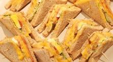 教站首策-在部落格的天地裏幸福玩味-蛙咖啡-三明治