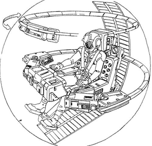 鋼彈的駕駛艙