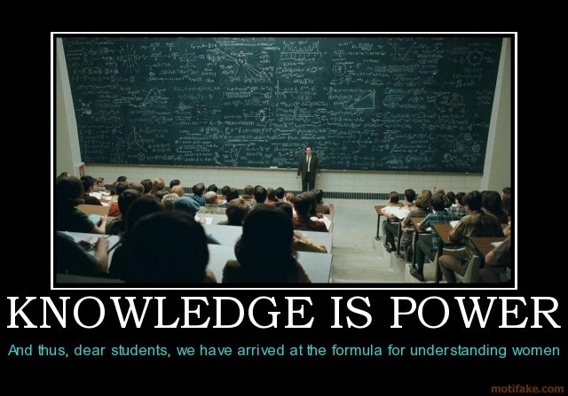 知識就是力量-knowledge is power