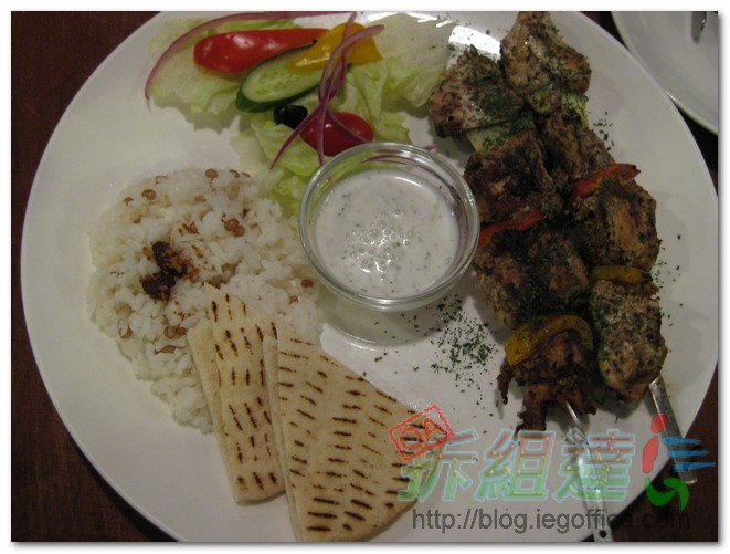 希臘左巴-雞肉串烤
