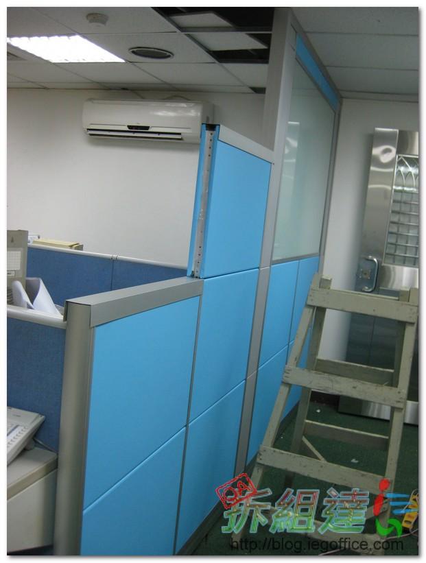 辦公家具-高隔間-LOGO牆