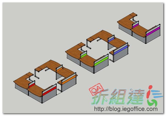辦公室,3D模擬圖