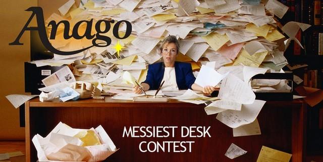 messiest desk contest,anago