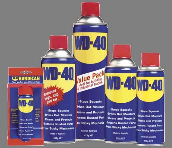 WD40-除鏽劑