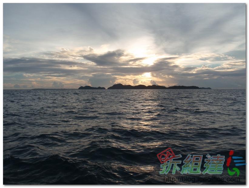 帛琉自由行-無人島之夜