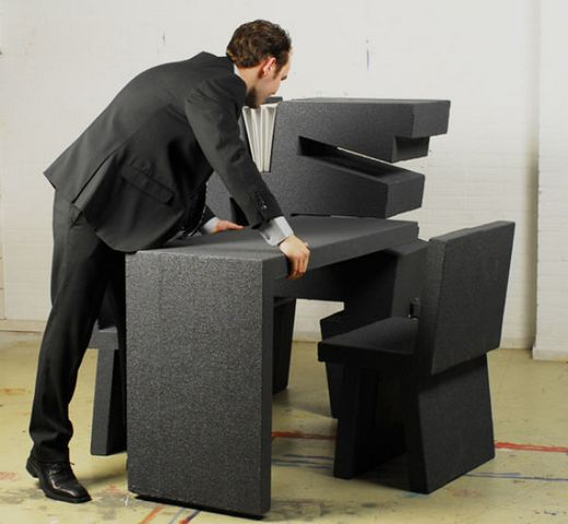 Transforming Portable Office Cubicle