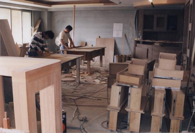 辦公室裝修-木作